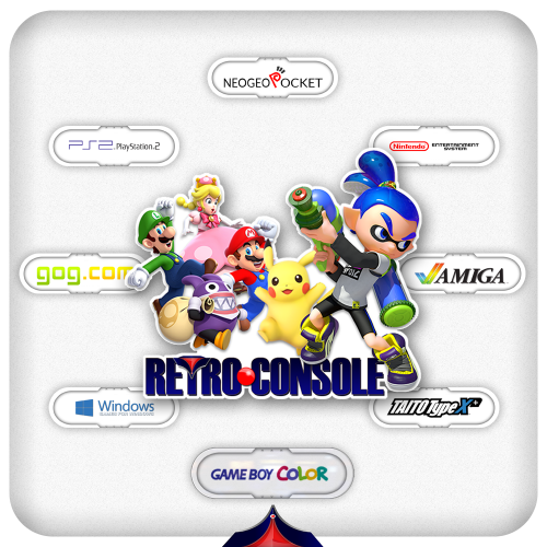 Retro Console - BB Theme, added animations and more!