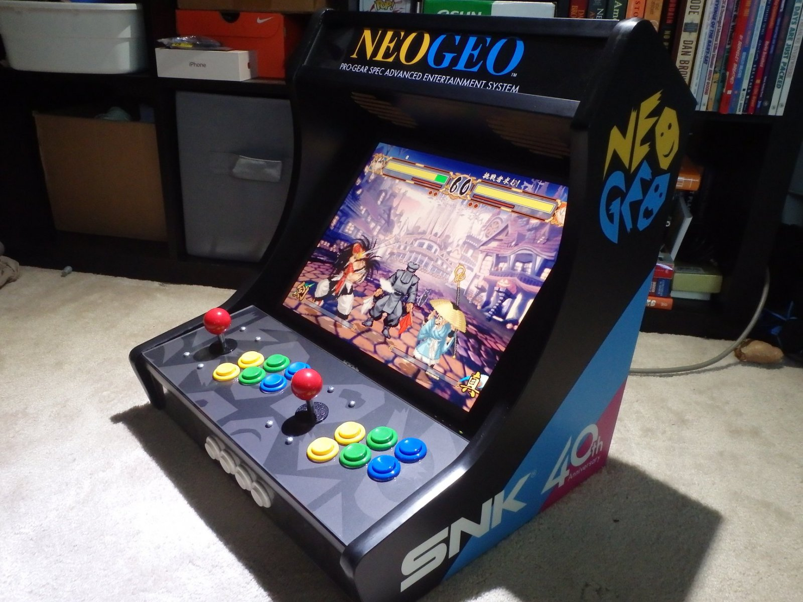 Bartop build from GRS