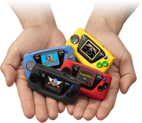 Sega Game Gear Micro - Playlist Clear Logo set